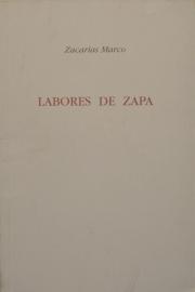 Labores de zapa Zacarías Marco