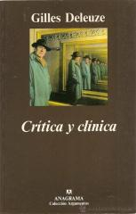crítica y clínica deleuze