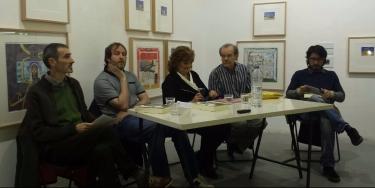 Presentación en Cruce libro Miriam y Gustavo