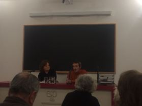 Con Miriam Chorne en la ELP
