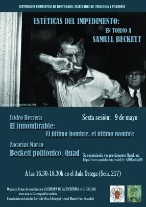 Beckett 9 de mayo